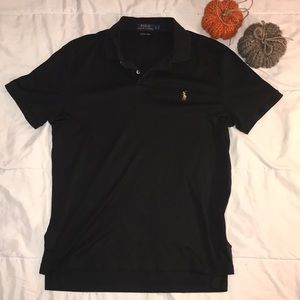 Men's Black Ralph Lauren POLO Like New Sz Large
